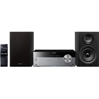 Sony CMTSBT100BCEK Home Audio System Bluetooth CD AM/ FM Tuner 50w output power 2 way Base Reflex