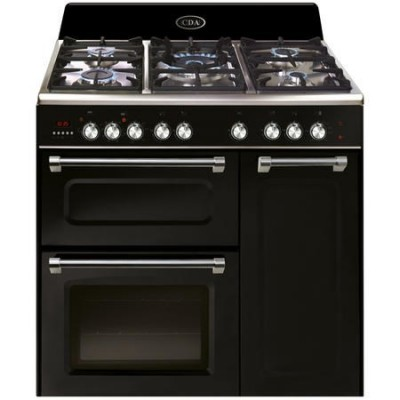 CDA RVC931BL 90cm triple cavity dual fuel range cooker****CLEARANCE****