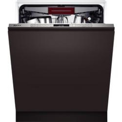 Neff S355HCX27G Built_In Full Size Dishwasher - Steel - 14 Place Settings