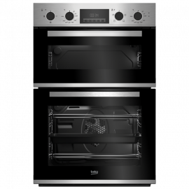 Beko CDFY22309X Built In High Specification RecycledNet™ Double Oven - Stainless Steel