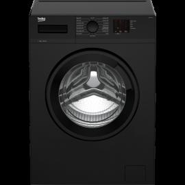 Beko WTK72041B 7kg 1200 Spin Washing Machine with Quick Programme - Black