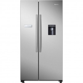 Hisense RS741N4WC11 American Style Fridge Freezer - Stainless Steel - A+ Rated****available to order****