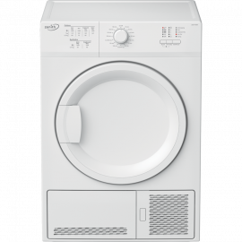 Zenith ZDCT700W 7kg Condenser Tumble Dryer - White - B Energy Rated