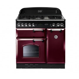Rangemaster Classic 90 84830 Dual-Fuel Cranberry range cooker ****Display Model Clearance****