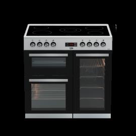 beko kdvc90x ceramic 90cm range cooker