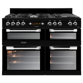Leisure CUISINEMASTER CS110F722K 110cm dual fuel BLACK