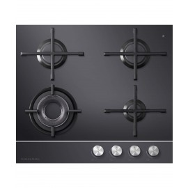 FISHER & PAYKEL CG604DNGGB1  Gas on Glass Hob
