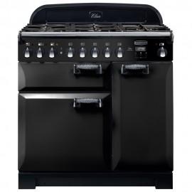 rangemaster elan deluxe 90 dual fuel range cooker ELA90DFFBL/