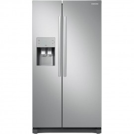 Samsung RS50N3513SL American Style Fridge Freezer - Stainless Steel Effect