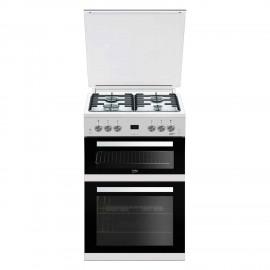 Beko EDG6L33W Gas Double Oven