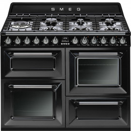 Smeg Victoria TR4110BL1 dual-fuel black range cooker****one only at this price!****