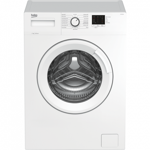 Beko WTK72041W 7kg 1200 Spin Washing Machine with Quick Programme - White