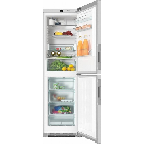 Miele KFN28132d cleansteel Freestanding fridge-freezer