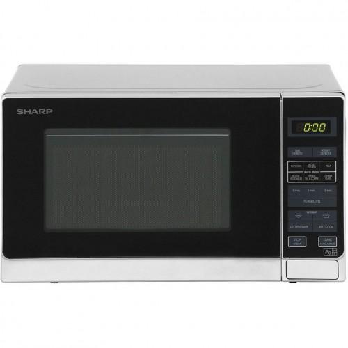 Sharp R272SLM 20 Litre Microwave - Silver